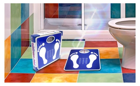 Kids Bathroom Scale-Mechanical Bathroom Scale, Blue 02073dc0-0c62-4e6f-a9e3-0c5426f92389
