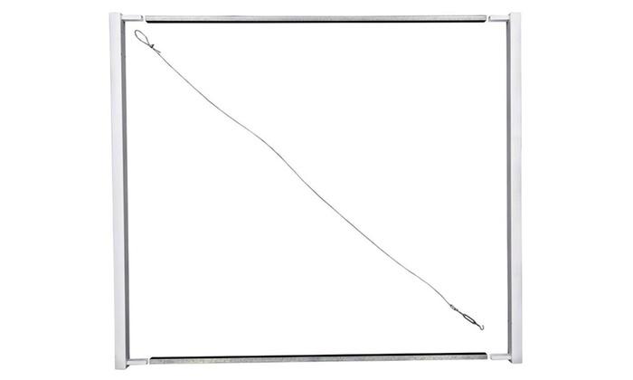 Adjust-A-Gate II Privacy Solid Board Fence Gate Frame-AG20056 | Groupon