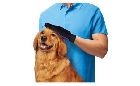 Pet Dog Brush Glove Mitt Deshedding Glove For Pet Grooming Massage 7742bd9d-834e-4bed-acf2-9f6c3c2471f9