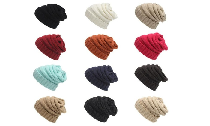 JSD Knitted Beanie Caps Skully Hat