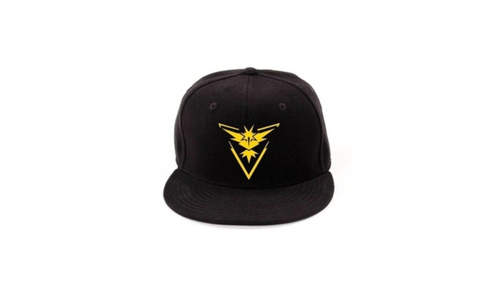 ca7de927 Pokemon Go Snapback Baseball Hat Team Mystic Instinct Valor | Groupon