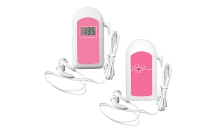 Pregnancy Pocket Fetal Doppler Heart Beat Monitor 2mhz Probe ,GEL