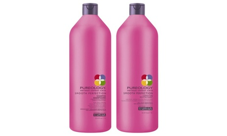 Pureology Smooth Perfection Shampoo & Conditioner Liter Duo
