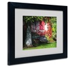 Philippe Sainte-Laudy 'Parenthesis' Matted Black Framed Art