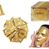5X Gold Bio Collagen Face Mask, 10x Gold Under Eye Patch Gift Pack