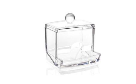 Transparent Cotton Swabs Stick Cosmetic Makeup Organizer Case 713b22f3-da96-405e-aa8d-2bfda1c23aa4