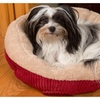 "Evelots Self Heating Pet Bed for Cats & Dogs, 20""D By 6""H, Red"