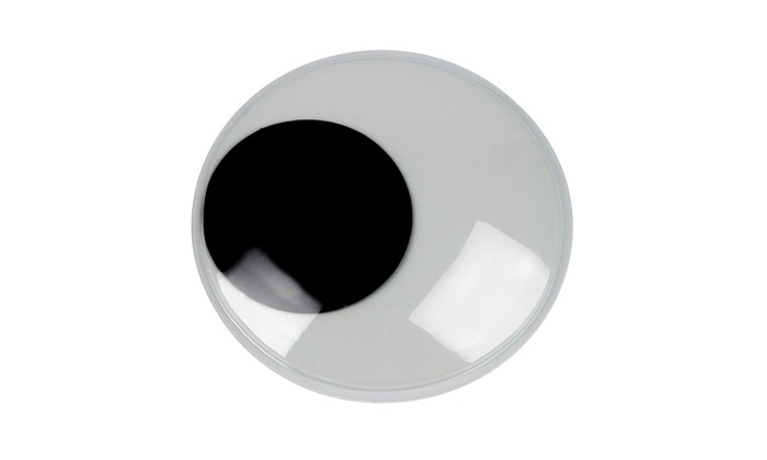 for DIY Art Craft Supplies 3.9 Inches Diameter 4-Pack Glow in The Dark Wiggle Eyes Doll Making Giant Googly Eyes and Scrapbooking Adhesive Large Moving Eyes Toy Accessories School Projects