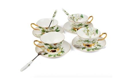 Porcelain Tea Cup and Saucer Coffee Cup Set TC-SCH 9c4ec148-8165-46cc-97d1-9c537b3db334