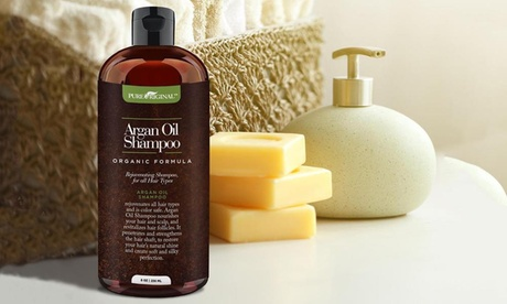 Pure Original Organic Argan Oil Shampoo (1- or 2-Pack) 2d7b8816-96b4-4ae4-9726-516982fd6689