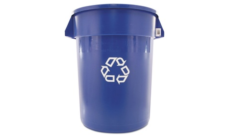 Rubbermaid Commercial Prod. Brute Recycling Container, Round, 32 Gal e03027ee-93df-4f95-a74e-6583b2682171