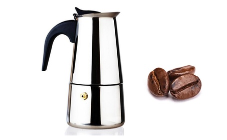9 Cup Cpacity Coffee Maker Polished Stainless Steel Construction 3cf98481-f32d-401b-890e-2bbb6978d757