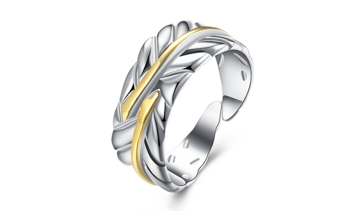 Up To 97 Off On Sterling Silver Feather Desig