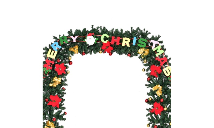 9 X 8 Pre Lit Artificial Arched Christmas Tree Archway