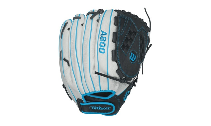 Wilson A800 Aura Fastpitch Softball 12.5in Outfield Glove-RH