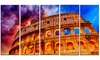 Colosseum Rome Italy - Monumental Photo Metal Wall Art