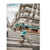 Yale Gurney 'Paris Bicycle Rider' Canvas Art