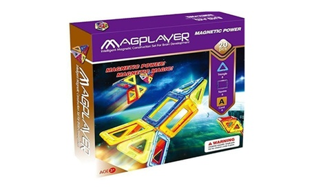 Magplayer Magnetic Toys Intelligent Magnetic Construction set 20 pcs d5f655ac-ff2d-459a-b1e4-85618cbef1cc