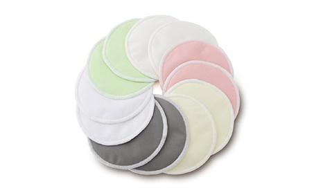 Organic Bamboo Nursing Pads (12 Pack) With Bonus Laundry Bag 52c7006d-8dd6-4d86-a180-50112439a666
