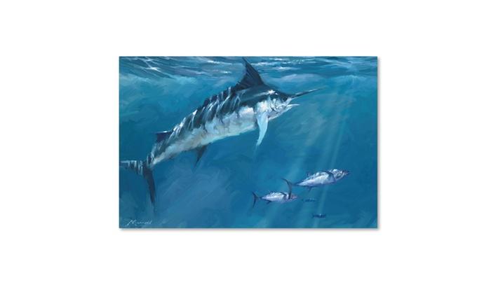 Groupon Goods: The Macneil Studio '0650 Marlin' Canvas Art
