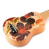Velocity Toys Classic Ukulele 4 Stringed Toy Guitar Lute (Natural)