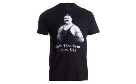 Funny Workout Doth Weight Lifting Gym Lifter Tee