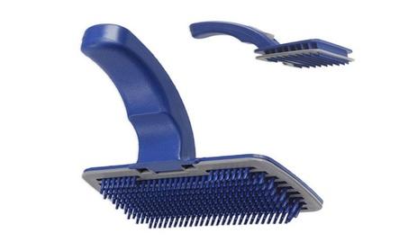 Pet Auto-Cleaning Grooming Self Cleaning Slicker Brush Comb 00f06b14-1ec7-4b68-825e-76b1c79a8487