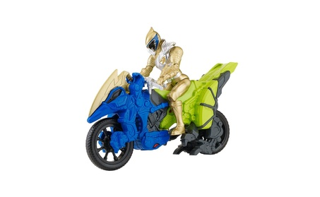 "Power Rangers Dino Super Charge - Dino Cycle with 5"" Gold Ranger e656ef2c-8167-44e0-9196-c9b8ff6894ce"