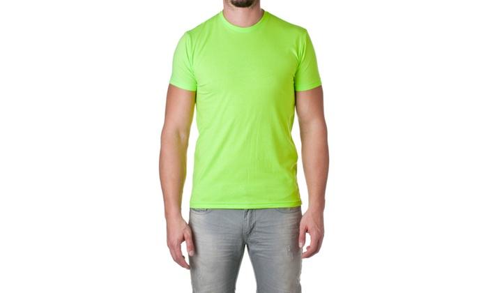 NLA Premium Cotton Blend Crewneck Shirt, 6210-5