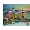 "Alexander Taron Bruck & Sohn Advent - ""Graz"" Scene - 10.5""H x 15""W x .01""D"
