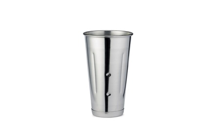 Stainless Steel Malt Mixing Cup 30 oz Drink Milkshake Silver Mirror 5a4f0c45-32f6-4d37-a19c-628da2d2a252