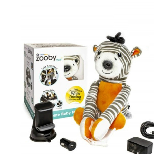 Zooby WiFi Direct Portable Video Baby Monitor The Only Truly Mobile Baby for
