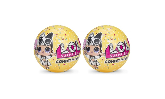 Up To 23 Off On L O L Surprise Confetti Pop Groupon Goods