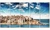 Sydney Bondi Beach Panorama - Landscape Metal Wall Art