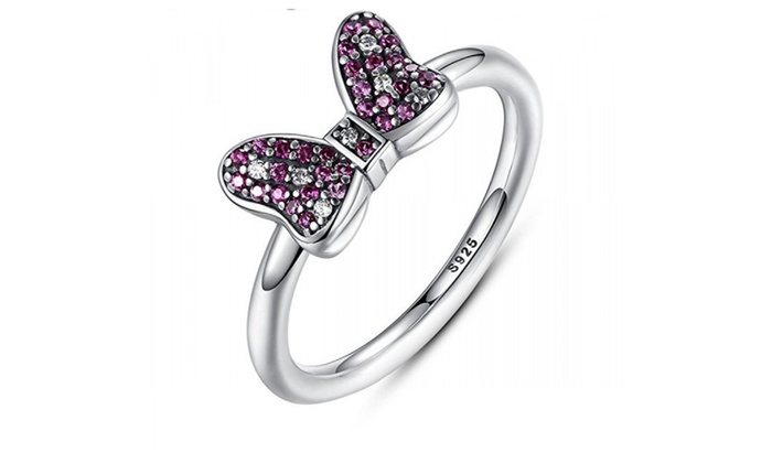 www.thegearblog.com: Minnie's Bow Sterling Silver Ring