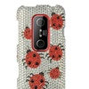 Insten Ladybug Hard Diamante Bling Case For HTC EVO 3D Silver/Red