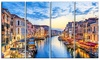 Grand Canal Panorama - Landscape Photo Metal Wall Art