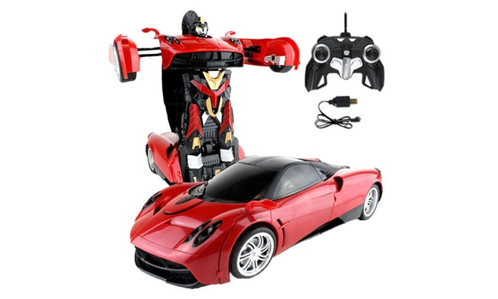 MZ Transformers Stinger 8+ IR RC Robot Pagani Car Bumblebee Optimus Pr ...