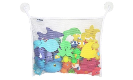 Mesh Bath Toy Organizer with Suction Cups d2274aac-2396-439b-86f1-c9c259382838