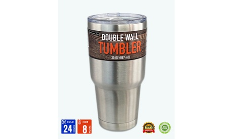 30 Oz Durable Double Wall Vacuum Insulated Stainless Steel Tumbler With Lid e2ec0d9e-f6f8-40eb-bc51-dbeefb0e7e4a