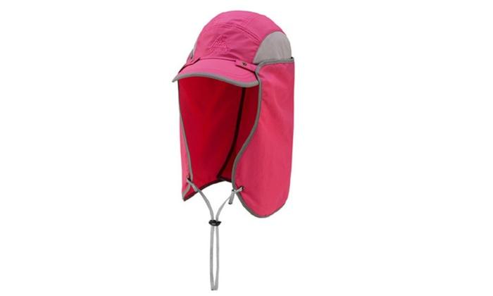 Unisex Outdoor Shawl Sun  Foldable Hat