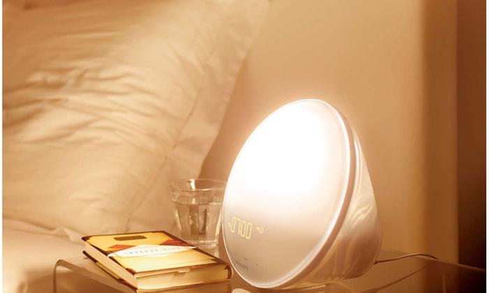 Elegant Philips Wake Up Light, Nightlight And Alarm Clock ...