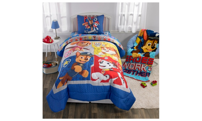 Nickelodeon S Paw Patrol Puppy Pals Body Pillow 20 X 48 Groupon