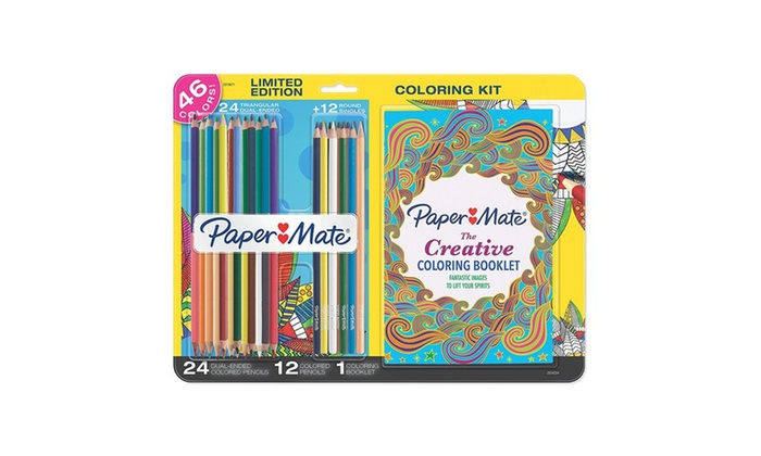 Up To 40% Off on Adult Coloring Book Kits | Groupon Goods