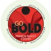Wolfgang Puck Go Bold Coffee Keurig K-cups - French Roast, 96 Count