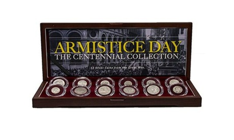 Armistice Day: The Great War Centennial Collection of 12 Silver Coins e5eb06f0-b96b-42f9-b17b-8262c6fcafd7