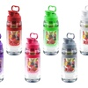 Fruit Infuser Tritan Water Bottle or Pitcher (1- or 2-Pack)