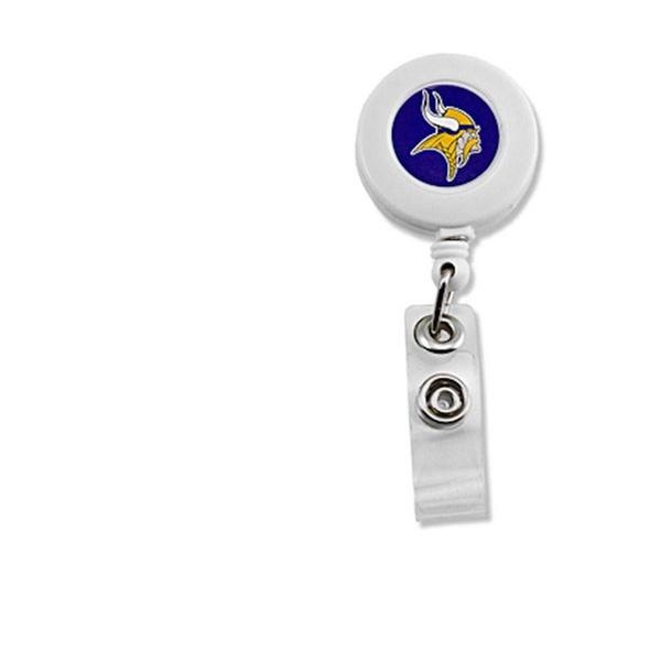 Team Color One Size WinCraft NCAA LSU Tigers Retractable Premium Badge Holder
