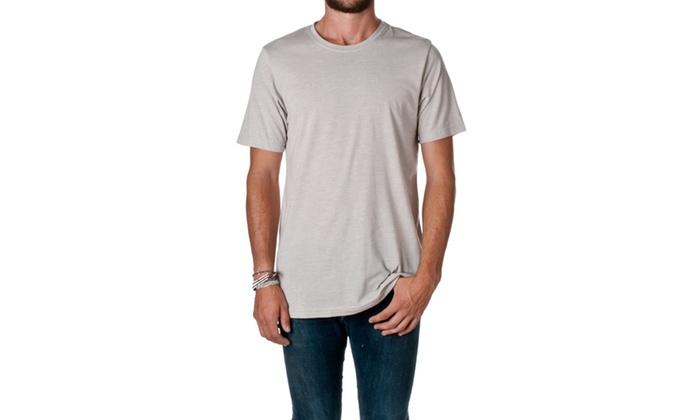 NLA Cotton Poly Crewneck T-Shirt, 6200-2