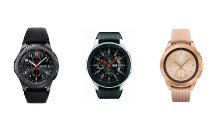 Samsung Galaxy Bluetooth Watch and Samsung Gear S3 Frontier Bluetooth Smartwatch Was: $299.99 Now: $199.99.